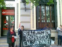 Readmisión Despedido Santander